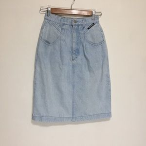 Vintage Skirts - Vintage Denim Skirt